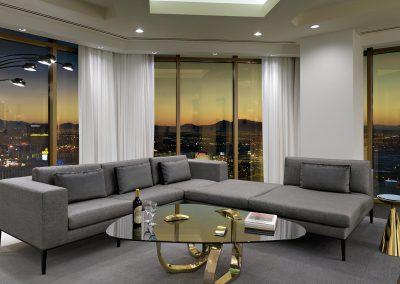 Delano Las Vegas Suite Living Room